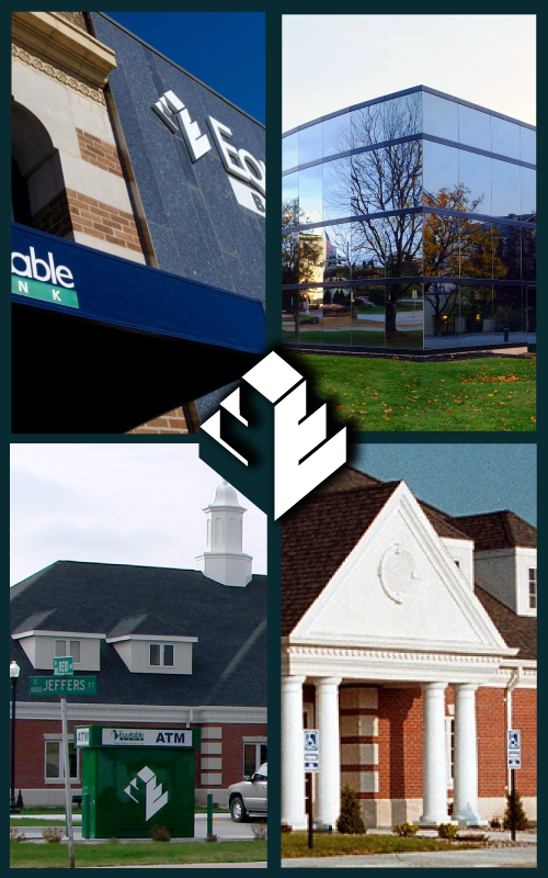 Equitable Bank branches collage tall header image